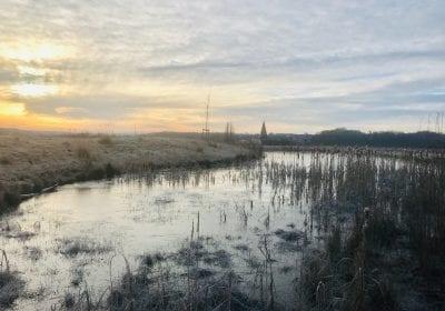 landschap Eygelshof winter