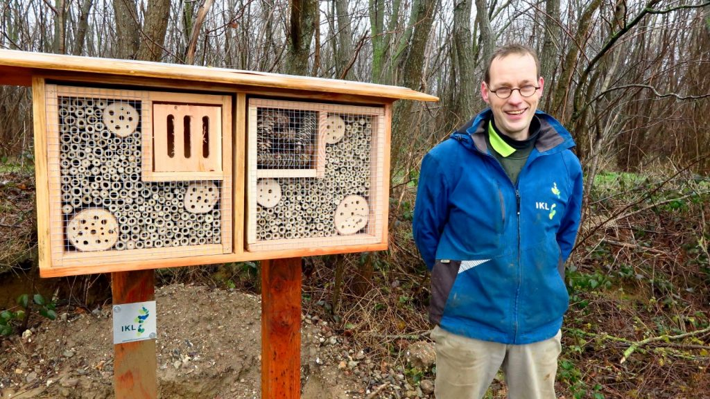 IKL insectenhotel wilde bijen